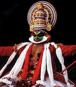 Dancer of Kathakali