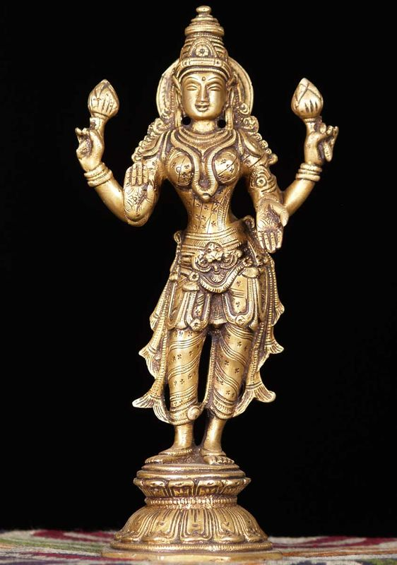 The god Lakshmi