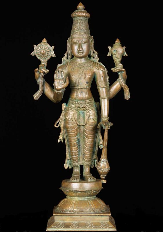 Le Dieu Vishnu