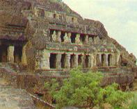 The rock temples of Undavalli