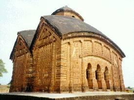 The temple of Jor Bangla