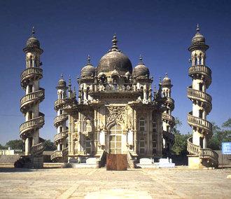 The Mahabat Maqbara