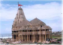 The temple of Somnath