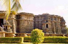 The temple of Hoysaleswara