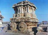A chariot of the temple of Vithala