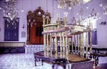 The synagogue of Kochi