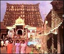 The temple of Sri Padmanabhaswamy
