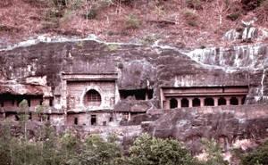 Le caves of Ajanta