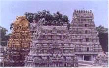 The temple of Kamakshi Amman