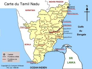 The indian province of Tamil Nadu