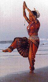 Dancer of Odissi