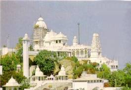 The temple of Sri Venkateswara