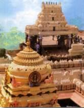 The temple of Kanaka Durga