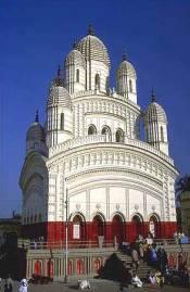 The temple of Dakshineswar Kali