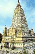 The temple of Mahabodhi