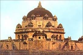 The mausoleum of Sher Shah
