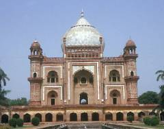 The tomb of Safgarjung