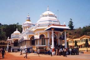 The temple of Sri Mangesh