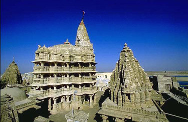 The temple of Dwarka