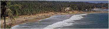 The beaches of Kovalam