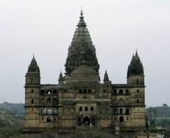 The temple of Chaturbhuj