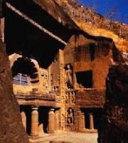Le cave of Ajanta
