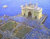 The gate of India