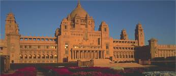 The palace of Umaid Bhawan