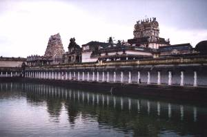 The temple of Nataraja