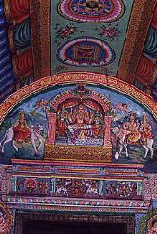 The temple of Sri Meenakshi