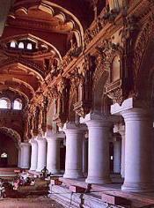 The palace of Thirumalai Nayak