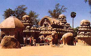 The 5 rathas