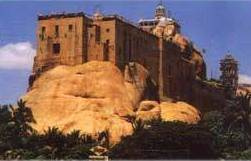 The Rock Fort Temple