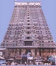 The temple of Sri Ranganathaswamy
