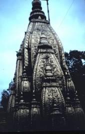 The temple of Vishwanath