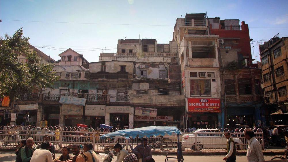 A street of Agra, nowodays