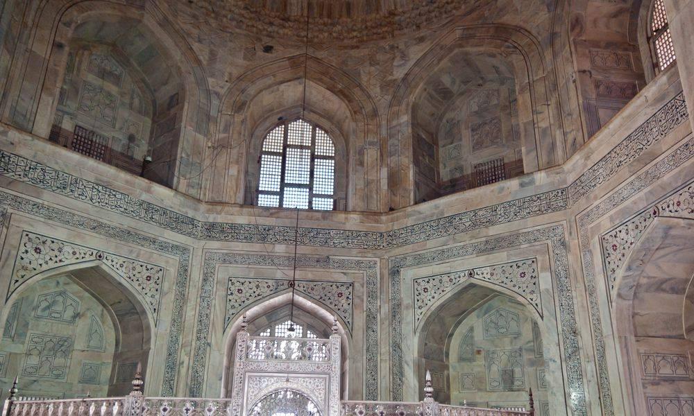 Attractive Interior Taj Mahal