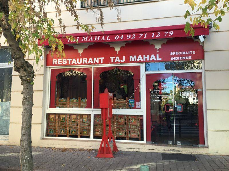 Restaurant 'Le Taj Mahal', at Manosque