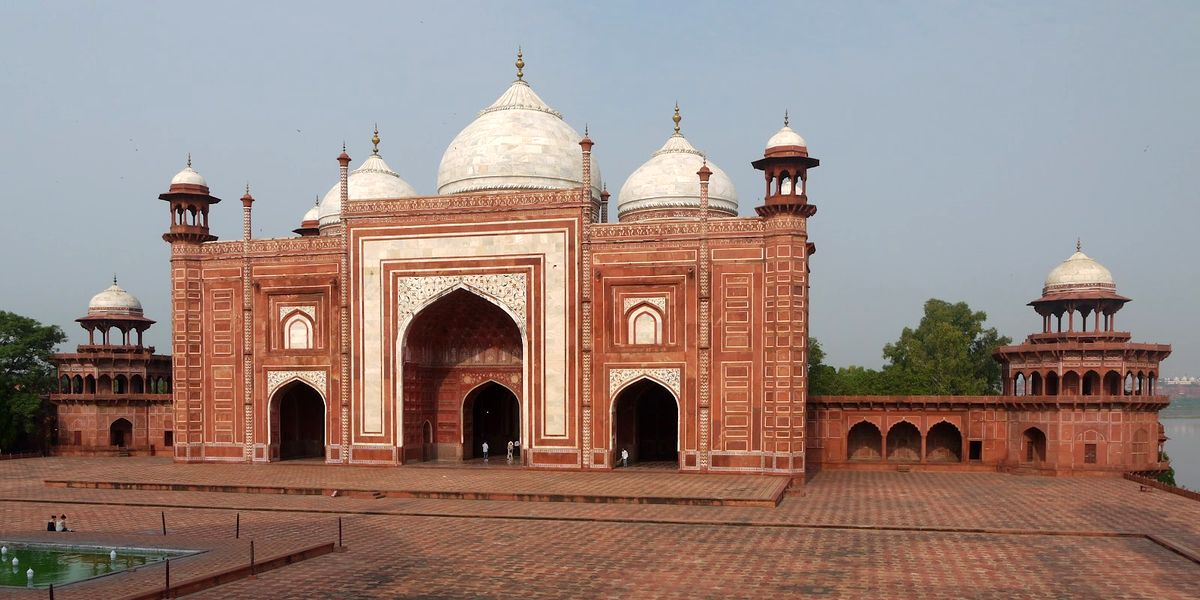 The Mosque of Taj Mahal Complex