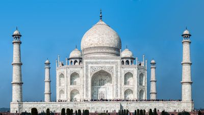The Taj Mahal and its dome