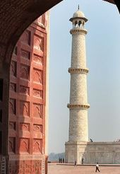 The minarets