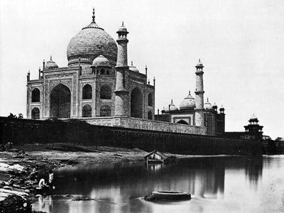 The Taj Mahal in 1865