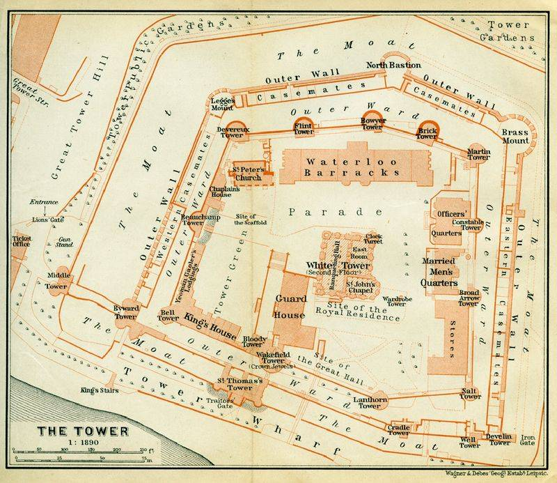 History of the tower of London