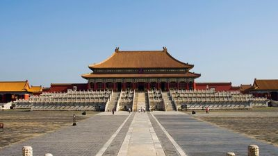 The forbidden city of Beijing, former imperial palace